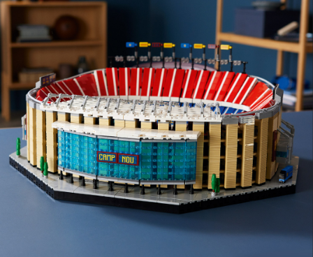 Barcelona team up with Lego for Camp Nou